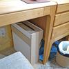 サンワサプライの足元ケーブルボックスで机の上・配線をスッキリ!その2