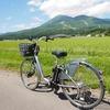 猪苗代駅からプチサイクリング。磐梯山と猪苗代湖とマンホールカード
