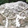 京都【下鴨神社】のさざれ石と河合神社の鏡絵馬