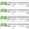 10月3日〜10月9日 +66,560円 バカラオートシステム収益