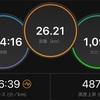 12/24 ロング走練習会ラン26kmと学んだこと