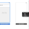 Xcode 5 + iOS 7 で、StoryBoard + TableView