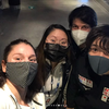 Elin Gullstrand さんインスタより 世界フィギュアの会場での昌磨君、ステファンコーチ、知子ちゃん