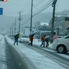 今冬一番の寒さに明日はなる!!