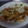 幸運な病のレシピ( 772 )朝:三角揚げ焼き、五目豆風、汁(ロール白菜)仕立て直し