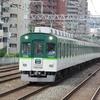 鉄道の日常風景83...京阪野江駅朝ラッシュ時20190704