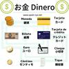 スペイン語・お金の種類