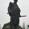 【写真修復・写真複製の専門店】大阪 豊国神社の豊臣秀吉の銅像