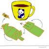 パンダの喫茶店「カフェ 群青パンダ」9 パンダのイラスト