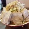 昭島市にできた超極太麺の二郎系「 自家製麺 まさき 」!ムチムチの食感と小麦の風味が素晴らしい麺でした (213杯目)
