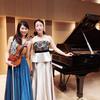 Brahms's complete sonatas ③ in Classica (芦屋)