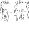 【迷惑行為】ショルダーバッグを肩にかけたまま満員電車に乗り込み、横幅占領する女性客