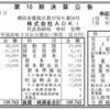 株式会社AOKI 第10期決算公告