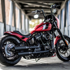 "パーツ:Killer Custom「M8 Softail Rear Fender ""Bobbstr"" For 180-200 Wide Tires」"