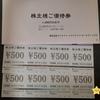 株主優待到着 【3387】クリエイト・レストランツ・ホールディングス