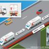 #158 新東名高速でトラックの隊列走行実験 140キロ区間、後続車無人・最大3台で実施 2019年6月