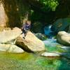 裏ヤビツ!本谷林道、塩水林道を歩きほんたに吊橋を探検。