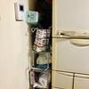 冷蔵庫の横の隙間収納が蘇ったの巻‼️
