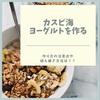 カスピ海ヨーグルトを作る!作り方の注意点、植え継ぎ方法
