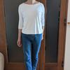 何歳になっても憧れる新品の白Tシャツ|ヨレない生地&ボディラインが響かない秘訣は?