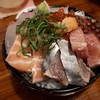 【鯔背】東淀川駅東口すぐの魚と日本酒がおいしいお店!トロトロさんまやイカ、豪快海鮮丼に感激!
