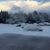 地吹雪(今日の日記)