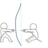 弓の引き方の考察