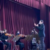 寒い日の 小学校公演