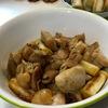焼きネギと鶏の生姜焼き