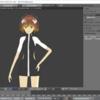 【3Dモデル】目と尻尾が動いた('ω')!