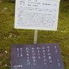 万葉歌碑を訪ねて(その1047)―奈良市春日野町 春日大社神苑萬葉植物園(7)―万葉集 巻二 一三三