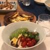 豆腐麺の野菜とアボカドのせ
