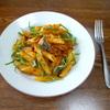 サバ缶のパスタ①トマトソース