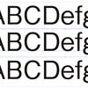 フォントのバウンディングボックスサイズ_Memo