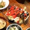 蒸し野菜とサラダチキンのトマトドレッシングサラダの作り方