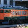 しなの鉄道115系S25編成が湘南色で試運転