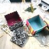 【カルトナージュレッスン】Original オリジナルレッスンクラス・正方形綿入りの蓋のBox・Mサイズ