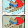 チベットスナギツネの砂岡さん「スーパーヒーロー」