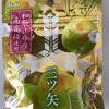 Asahi 三ツ矢 梅グミ! 和歌山県産の紀州南高梅使用の酸っぱ美味しいグミ!