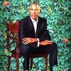 オバマ大統領の肖像画@ National Portrait Gallery