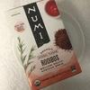 【ノンカフェイン】新パッケージになった Numi Organic Tea 「Rooibos」【ルイボスティー】