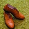 ダイソー[100円均一]で買った靴底補用品で革靴を修理する方法