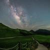 【天体撮影記 第27夜】 奈良県 曽爾高原の頭上に輝く天の川