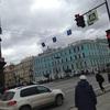 サンクトペテルブルクの町