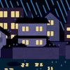 セキスイハイムの2階寝室は雨音が響く!?