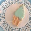 はじめてでも簡単♪【子供も喜ぶソフトクリーム型のアイシングクッキー】