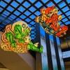 グランスタ東京に吊りねぶた「風神雷神」を見に行ってみた。(千代田区丸の内)