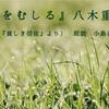 ◆YouTube 更新しました♬ 〜31本目『草をむしる』八木重吉(詩集『貧しき信徒』より)〜