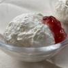 水切りヨーグルトで濃厚♥雪のような「フロマージュ風ヨーグルトムース」のかんたんレシピ