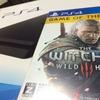 PS4買った報告とウィッチャー3のことと。